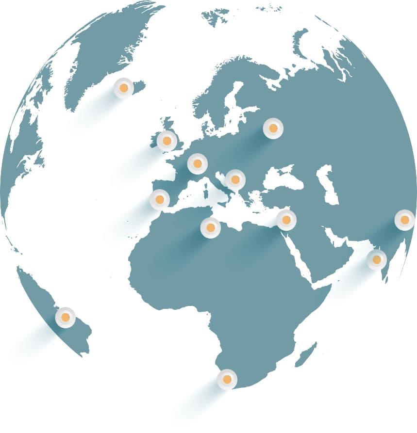 Grafik: Weltkugel